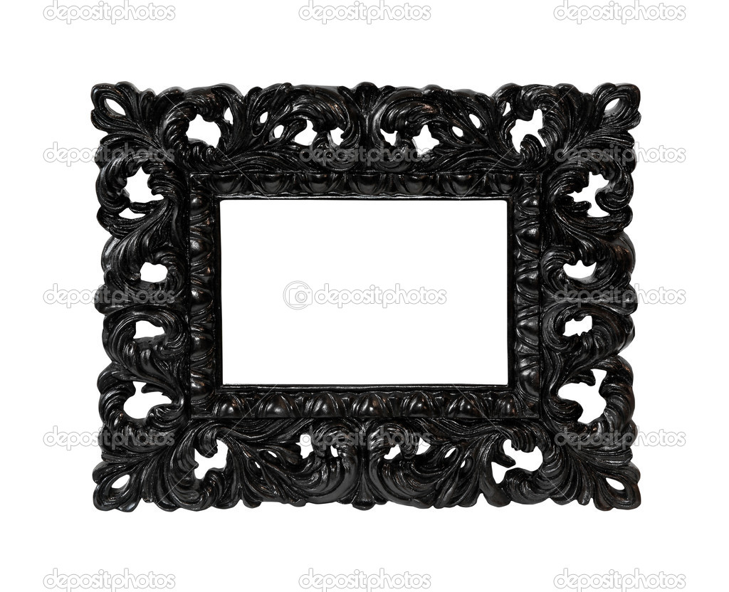 black frame stock photo baloncici 6561837