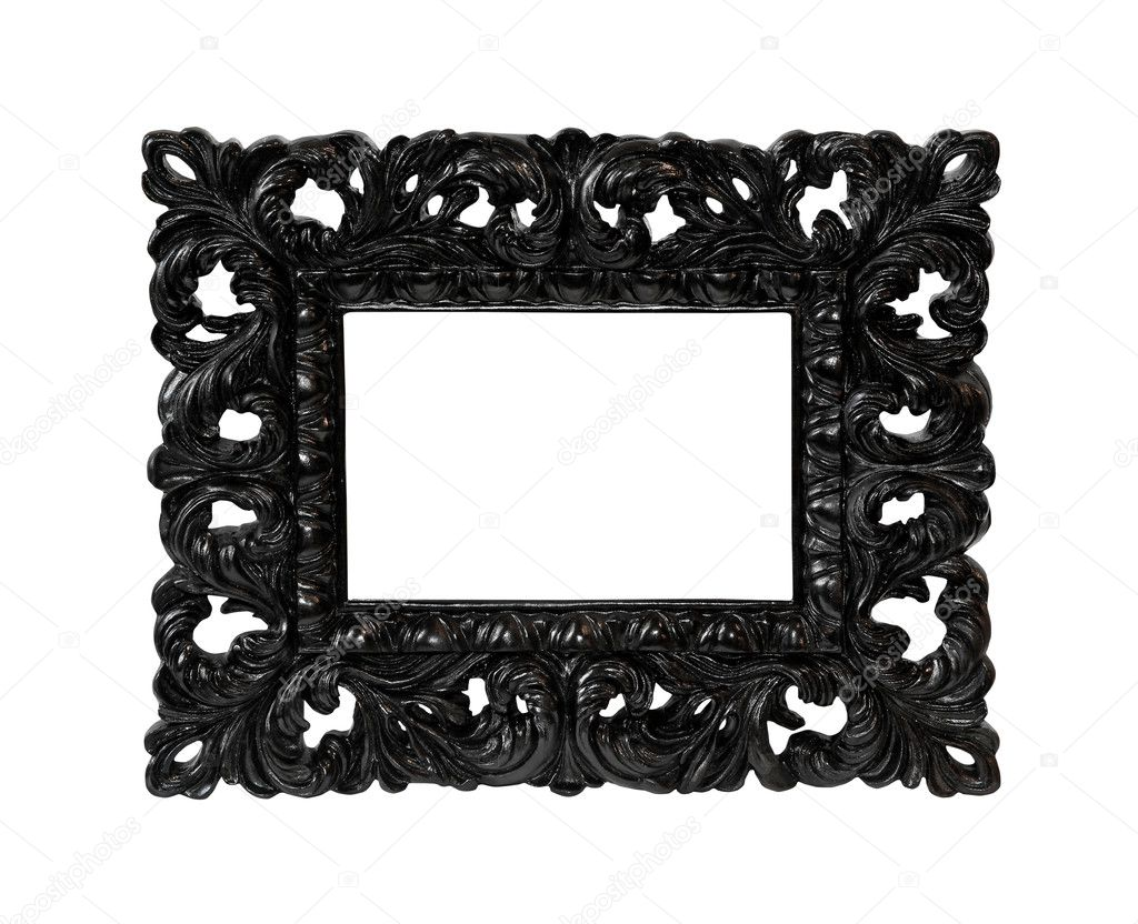 Decorative frame isolated with clipping path included — Stock Photo #6561837