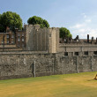 Tower of london walls - Stock Photo