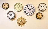 Pared reloj — Foto de Stock