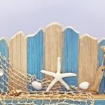 Seaside wall — Stock Photo