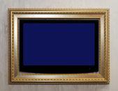 TV in frame — Stock Photo