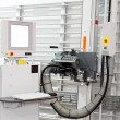 Automatic vertical panel saw - Stock Photo