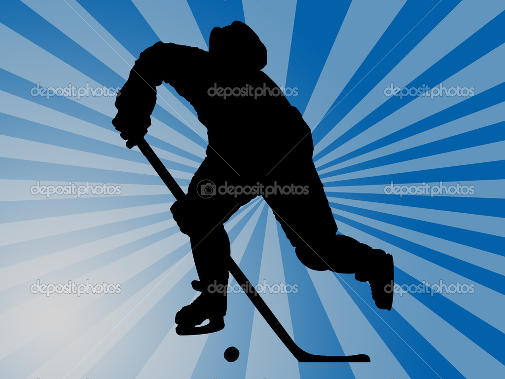 Hockey player — Stock Photo #5987943