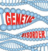 Genetic Disorder - Mutation in DNA Causes Disease — Stock Photo