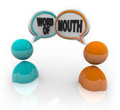 Word of Mouth - Two Speaking — Stock Photo