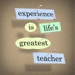 Experience Life's Greatest Teacher - Live for Education — Stock Photo