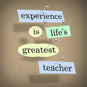 Experience Life's Greatest Teacher - Live for Education — Foto de Stock