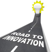 Road to Innovation - Path to Creative Problem Solving — 图库照片