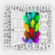 Promotion Door - Career Path Job Opportunity Opening for You - Stockfoto