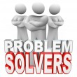 Stock Photo: Problem Solvers Ready to Solve Your Problem