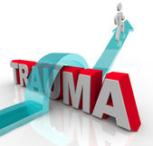 Getting Over Trauma - Therapy and Rehabilitation Conquer Problem — Stock Photo