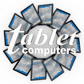 Tablet Computers New Technology Devices e-Readers — Stock Photo