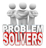 Problem Solvers Ready to Solve Your Problem — 图库照片