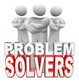 问题求解器准备解决您的问题 — 图库照片