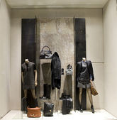 Boutique display window — 图库照片