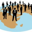 Business global work force resources -  