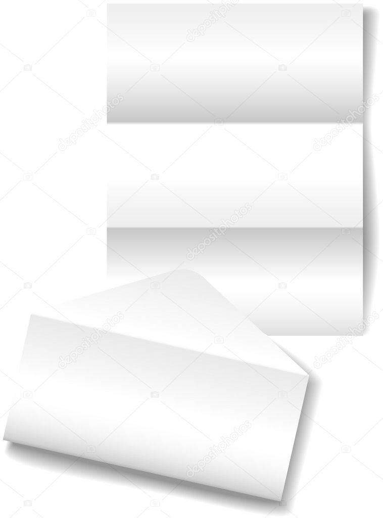 Open letter envelope stationery paper background — Stock Vector ...