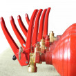 Foto Stock: Fire Extinguishers