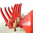 Fire Extinguishers — Foto de Stock