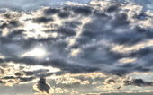 Clouds in HDR — Stock Photo