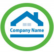 Real Estate logo — Stock Vector #6338152