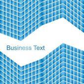 Blue Business Background — Vector de stock