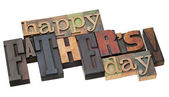 Dzień szczęśliwy ojciec — Zdjęcie stockowe