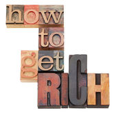How to get rich — Stock Photo
