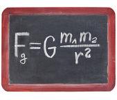 Newton yerçekimi yasası — Stok fotoğraf