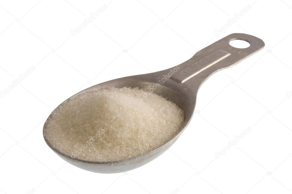 Tablespoon of white sugar stock photo pixelsaway 5800488 for 1 table spoon of butter