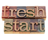 Fresh start — Stock Photo