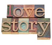 Love story — Stock Photo