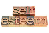 Self esteem concept — Stock Photo