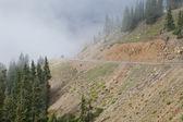 Montanha dirigindo em colorado — Foto Stock