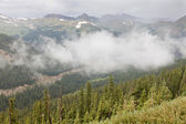 洛矶山脉山谷 — 图库照片