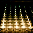 Candles Reflections — Stock Photo
