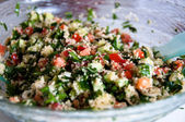Arabian Tabouleh Dish With Couscous — Stock Photo