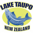 Trout fish lake taupo new zealand — Zdjęcie stockowe
