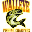 Walleye fishing charters — Stock Photo #5560703