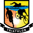 Triathlon swim bike run race — Stock Photo #6365642