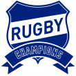 Rugby champions shield — Stock Photo #6365698