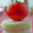 Tomato and cheese — Foto Stock