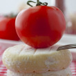 Tomato and cheese — Stock Photo