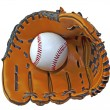 Ball and glove — Stock Photo #5884436