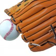 Ball and glove — Stock Photo #5884485