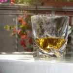Glass of liquor — Stock Photo