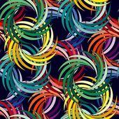 Seamless vivid swirl pattern — Stock Vector