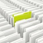 Green and grey folders — Stock Photo #5446822