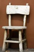 Krzesło drewniane — Zdjęcie stockowe